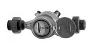 Flow Meter with Unions